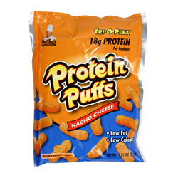 CHEF JAY'S PROTEIN PUFFS 12/50g BAGS