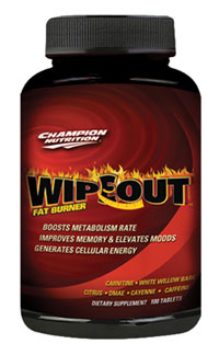 Champion Nutrition Wipe Out 120c