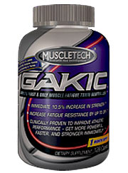 Muscletech Gakic Hardcore Pumped Up Strength On Sale