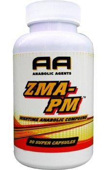 Anabolic Agents ZMA-PM 90c