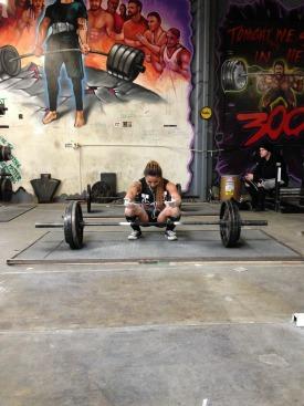 Joyce In The Gym